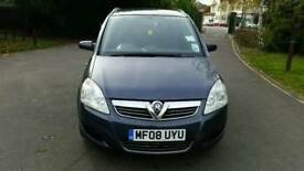 2008**VAUXHALL ZAFIRA EXCLUSIV 1.6cc**/CAMBELT & WATER PUMP CHANGED\ **NEW BRAKE PADS FRONT & REAR*