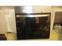 Candy single oven. Working and clean.