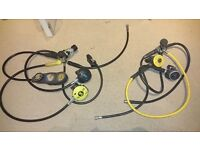 diving equipment,regulators