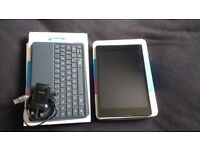 Nexus 9 16GB WIFI Black android tablet with Official Folio keyboard/case - Like New