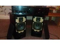 Kenwood LS-311 speakers+Pioneer A-107 amp