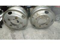 Isuzu grafter wheel rims