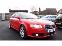 2006 AUDI A4 AVANT 2.0 TDI S LINE ** 12 MONTHS MOT* *1 FORMER KEEPER* *ONLY 86000 MILES**