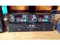 Denon DN-1800F Twin CD Player Faulty