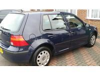 2002 VW VOLKSWAGEN GOLF S 1.4L 5 DOORS