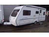 R&K CARAVANS 2006 2006 ECCLES AMERTYST 5 BERTH END BEDROOM 12 MONTH WARRANTY SUBJECT TO CONDITIONS