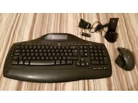 Logitech MX5500 Revolution Wireless Keyboard & Mouse