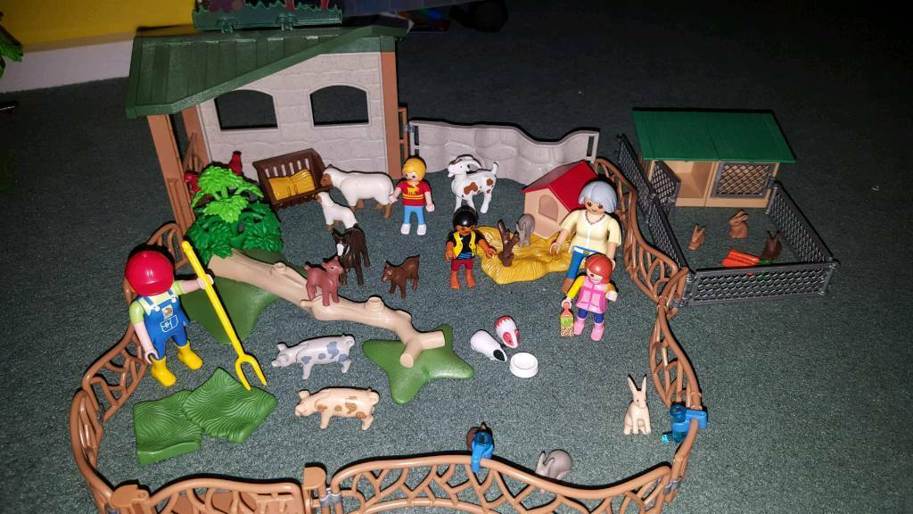 Playmobil City Life Childrens Petting Zoo 6635 Extras In