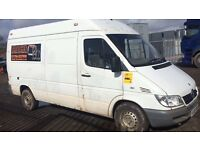 Mercedes sprinter 208cdi 308cdi 211cdi parts available gear selector radiator gearbox propshaft