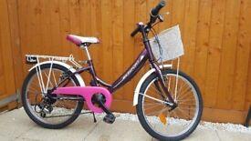 Kids bike for girls , 20 inch wheel, Shimano 6 sp