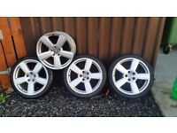 ***18 Inch RS6 Alloys 5x112 Fitment***