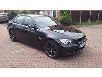 BMW 3 series 2007 SE DIESEL BLACK 2.0 litre FULL SERVICE HISTORY manual 5 door saloon
