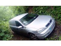 Vauxhall astra van 2003 130k long mot