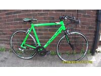 VIKING SPRINT XRR 14 SPEED RACING BIKE LIGHTWEIGHT 22in/56cmALLOY FRAME EX COND NEVER BEEN ON ROAD