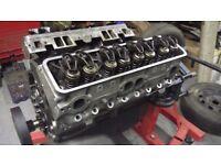 Rebuilt Chevy L98 Corvette 5.7 motor with Alloy heads