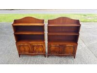 PAIR OF REPRODUX BEVAN FUNNELL BOOKCASES