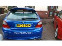 Rover mg zr 2003 spares or repair project