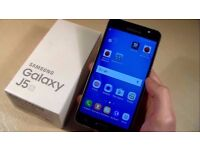 samsung galaxy j5 black 2016 unlocked to any networks in mint condition like new