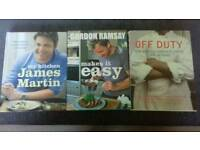 3 x Cookery Books