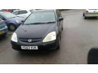 £300 ono honda civic spares or repairs