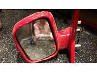 Vw t5 electric passenger door mirror