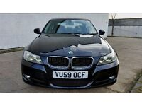2009 [59] BMW 320D LCI MODEL BLACK 11 MONTHS MOT - JUST SERVICED (PART EX WELCOME)