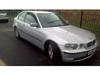 BMW 320td compact se, good fuel mileage
