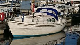 WESTERLY LONGBOW 31' SAILING CRUISER VOLVO 23HP £9950