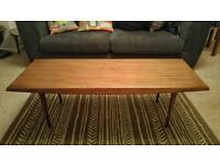 Gorden Russell Coffee table vintage mahogany retro Ercol style