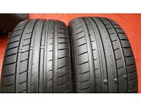 225 50 17 2 x tyres Infinity ECOMAX