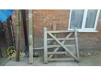 Wooden 4ft field gate