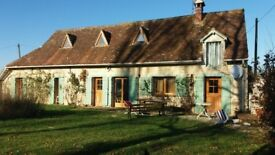 Rural French House for Sale Located in Normandy Stunning Views National Park Area