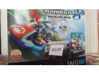 Mario Kart 8 Nintendo Wii U premium pack -- Including 7 Games