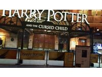 Two tickets in total 2 parts) to Harry Potter and the Cursed Child