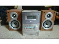 JVC DVD and CD Player Soundsystem