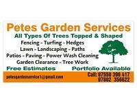 Petes tree surgeon garden clearance