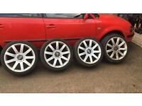 "Audi RS4 18"" Alloys"