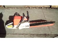 Petrol Chainsaw 60 cc ready to use