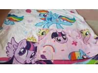 My little pony single bedset