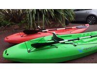 2 x Sit on TekSport X260 Kayaks
