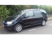2007 VW SHARAN 2.0 DIESEL 7 SEATER, 1 YEAR MOT, A/C, 2 OWNERS, LOVELY CAR