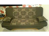 Beautiful sofa bed, nearly new.