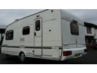 2004 abbey adventurer 320 4 berth touring caravan