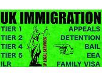 Visa Advice- Tier 4, Tier 2, Tier 1, Tier 5, ILR, Bail- All UK Immigration Advice