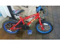 "Child's Bike ""Spiderman"" - 16"" wheels"