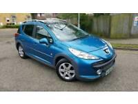 2009 Peugeot 207 SW 1.6 HDi Outdoor 5dr Blue Estate Diesel