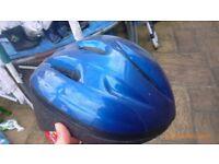 Kids blue cycle helmet