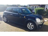 Black Mini Cooper Diesel 2009, 60249 miles, service history and full 12 months MOT!