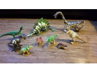 Dinosaur collection - plastic toy dinosaurs