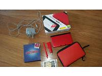 Nintendo 3DS XL Red & Black on System Nand V4.5 + Gateway